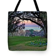 The Bay View Bench Tote Bag