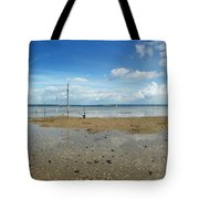 The Beach At Helnaes Tote Bag
