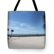 The Beach At The Isle Dauphine Tote Bag