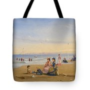 The Beach At Trouville Tote Bag