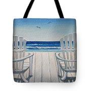 The Beach Chairs Tote Bag