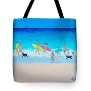 The Beach Parade Tote Bag