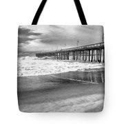 The Beach Pier Tote Bag