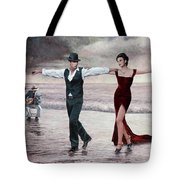 The Beach Quartet, Lady In Red Tote Bag