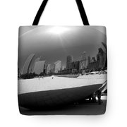 The Bean B-w Tote Bag