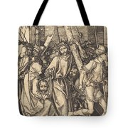 The Bearing Of The Cross With Saint Veronica Tote Bag