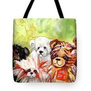 The Bears From The Yorkshire Moor 02 Tote Bag