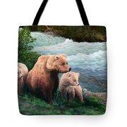 The Bears Of Katmai Tote Bag