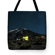 The Beast In The Night Tote Bag