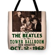 The Beatles And Little Richard Poster Collection 6 Tote Bag
