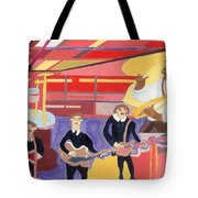 The Beatles And Louis Armstrong Tote Bag