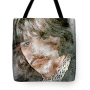 The Beatles Ringo Starr Tote Bag