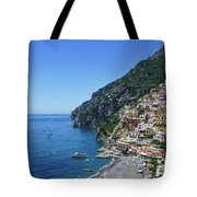 The Beautiful And Famous Amalfi Coast Tote Bag