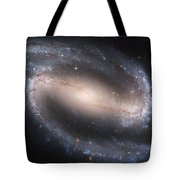 The Beautiful Barred Spiral Galaxy Ngc 1300 Tote Bag