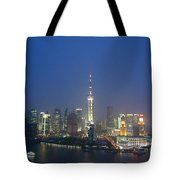 The Beautiful Bund, Shanghai, China Tote Bag