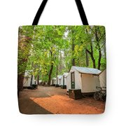 The Beautiful Half Dome Village Tote Bag