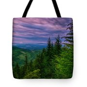 The Beautiful Olympic Mountains At Dawn - Olympic National Park, Washington Tote Bag