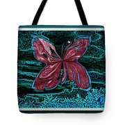 The Beauty Of A Butterfly's Spirit Tote Bag