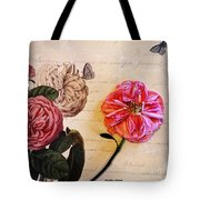 The Beauty Of A Dried Rose Tote Bag