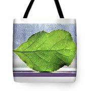 The Beauty Of A Leaf Tote Bag