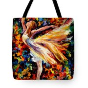 The Beauty Of Dance Tote Bag