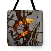 The Beauty Of Goldfish Tote Bag