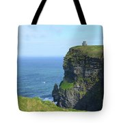 The Beauty Of Ire'land's Cliff's Of Moher In County Clare Tote Bag