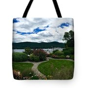 The Beauty Of Lake George Tote Bag