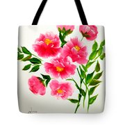 The Beauty Of Peonies Tote Bag