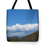 The Beauty Of Rain Clouds Tote Bag