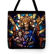The Beauty Of Stained Glass Tote Bag