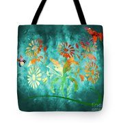 The Bee And Butterfly Tote Bag