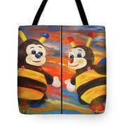 The Bees, Joey And Lilly Tote Bag
