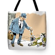 The Beggar. Tote Bag