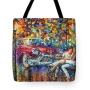The Begining 1959 Tote Bag