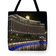 The Belagio A Night View Tote Bag
