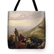 The Belated Party On Mansfield Mountain Tote Bag