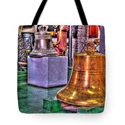 The Bell Tolls Tote Bag