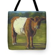 The Belted Cow Tote Bag