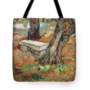 The Bench At Saint Remy Tote Bag