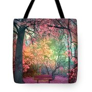 The Bench That Dreams Tote Bag