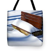 The Bench - The Guild Inn Tote Bag