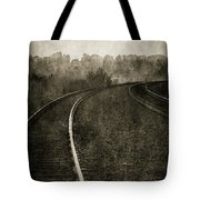 The Bend 4116 Bw_2 Tote Bag
