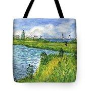 The Berkeley Island Pond Tote Bag