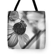 The Best Gardener - Bw Tote Bag