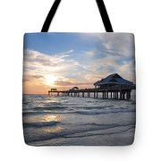 The Best Sunsets At Pier 60 Tote Bag