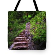 The Best Way Up Tote Bag