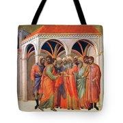 The Betrayal Of Judas 1311 Tote Bag
