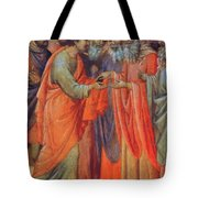 The Betrayal Of Judas Fragment 1311 Tote Bag