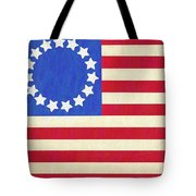 The Betsy Ross Flag Tote Bag